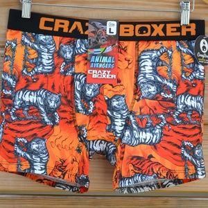CRAZY BOXER Animal Avengers Tigers  Boxer Brief